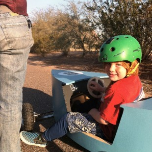 First Kart Run at Papago