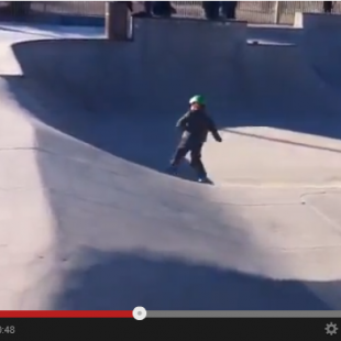 Skateboarding is improving